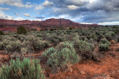 AZ-UT-Vermilliom Cliffs Wilderness-S Coyote Buttes Stock Photo