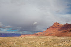 AZ-Vermilion Cliffs as seen from the remote road leading to the Saddle Mountain Wilderness on the North Rim of the Grand Canyon Stock Photo