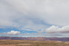 AZ-Vermilion Cliffs as seen from the remote road leading to the Saddle Mountain Wilderness on the North Rim of the Grand Canyon Royalty Free Stock Images