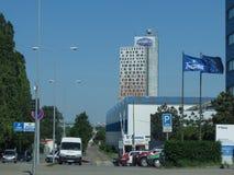 AZ wierza wysoki budynek Zdjęcia Stock