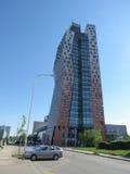 AZ wierza wysoki budynek Obrazy Royalty Free
