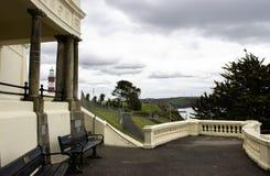 Azada de Plymouth, visión desde el soporte inglaterra Fotos de archivo