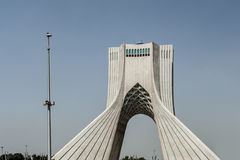 Azadi塔在德黑兰,伊朗 库存图片
