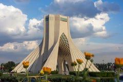 Azadi塔在德黑兰 库存图片