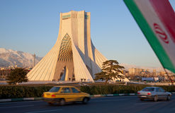 City of Tehran Royalty Free Stock Images