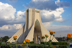 Azadi torn i Teheran Arkivbilder