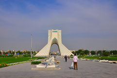 AZADI TOWER royalty free stock photo