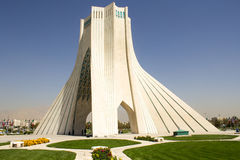 Azadi Tower. Image Azadi Tower in the Iranian capital Tehran, It is the most important monument in Iran and also called Statue of Liberty, It is a place for Royalty Free Stock Photography