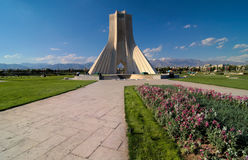 Azadi Tower royalty free stock photography