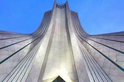 Azadi Tower located at Azadi Square, in Tehran, Iran. The Azadi Tower located at Azadi Square, in Tehran, Iran royalty free stock image