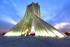 Azadi Tower located at Azadi Square, in Tehran, Iran. The Azadi Tower located at Azadi Square, in Tehran, Iran stock photography