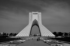 AZADI TOWER TEHERAN royalty free stock photo