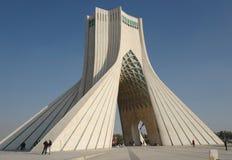 Azadi tower in Tehran. Is the most famous landmark in Tehran, Iran stock photos
