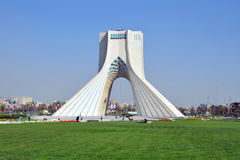 Azadi tower Stock Images