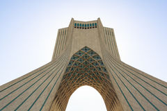 Azadi Tower in Tehran, Iran royalty free stock photos