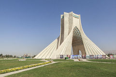 Azadi Tower in Tehran, Iran royalty free stock image