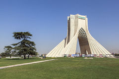 Azadi Tower in Tehran, Iran. This picture is taken at Tehran Capital, Iran. The Azadi Tower Persian: برج آزادی — stock images