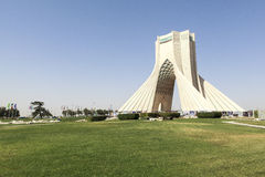 Azadi Tower in Tehran, Iran royalty free stock photography