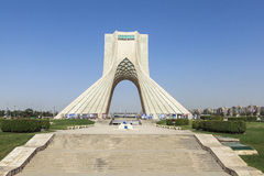 Azadi Tower in Tehran, Iran stock photo