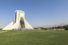 Azadi Tower in Tehran, Iran. This picture is taken at Tehran Capital, Iran. The Azadi Tower Persian: برج آزادی‎‎ — royalty free stock image
