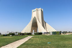 Azadi Tower in Tehran, Iran. This picture is taken at Tehran Capital, Iran. The Azadi Tower Persian: برج آزادی‎‎ — stock images