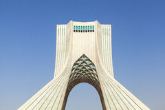 Azadi Tower in Tehran, Iran. This picture is taken at Tehran Capital, Iran. The Azadi Tower Persian: برج آزادی‎‎ — stock photos