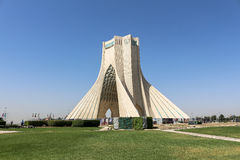 Azadi Tower in Tehran, Iran. This picture is taken at Tehran Capital, Iran. The Azadi Tower Persian: برج آزادی‎‎ — royalty free stock photos