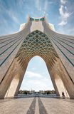Azadi Tower in Tehran, Iran, taken in January 2019 taken in hdr royalty free stock image