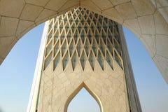 Azadi tower in Tehran. Is the most famous landmark in Tehran, Iran stock image