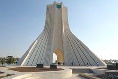 Azadi tower in Tehran. Is the most famous landmark in Tehran, Iran royalty free stock photo
