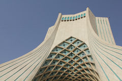Azadi-Turm in Teheran, der Iran Stockfotos