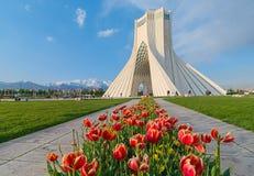 Azadi wierza w Teheran, Iran zdjęcie royalty free
