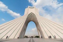 Azadi wierza w Teheran, Iran obrazy stock