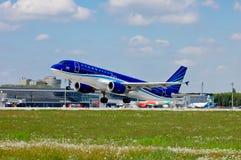 AZAL Azerbaijan Airlines Aerobus A320 Fotografia Stock