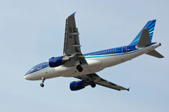 AZAL Azerbaijan Airlines Airbus A319 Stock Photo