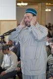 Azan - een beroep op een gebed Royalty-vrije Stock Foto