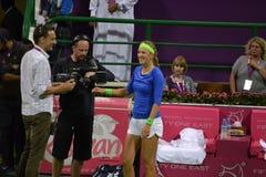azarenka lyckliga victoria Royaltyfria Bilder