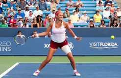 Azarenka 002. Mason, Ohio - August 18, 2015:  Victoria Azarenka at the Western and Southern Open in Mason, Ohio, on August 18, 2015 Royalty Free Stock Image