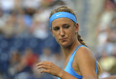 Azarenka Victoria # 1 WTA 125. Azarenka Victoria (BLR) # 1 in ranking WTA wiinner of Indian Wells 2012 Royalty Free Stock Photos