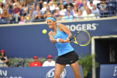 Azarenka Victoria # 1 WTA 44 backhand Stock Photos