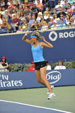 Azarenka Victoria # 1 WTA forehand Royalty Free Stock Photos