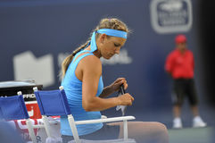 Azarenka Victoria BLR # 1 WTA 3 Royalty Free Stock Photography