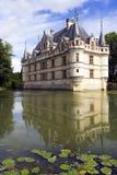 azay замок Франция le rideau Стоковое фото RF