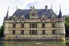 azay замок Франция le rideau Стоковые Фотографии RF