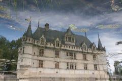 azay замок d le rideau Стоковые Фотографии RF