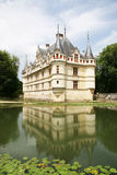 azay chateau le rideau Arkivfoton