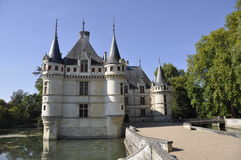 azay Górska chata Le Rideau Obraz Royalty Free