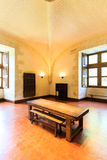 Azay le Rideau城堡内部  库存图片