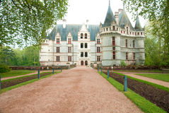 Azay-le-Rideau Royalty Free Stock Photo