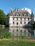 Azay le Rideau Royalty-vrije Stock Afbeeldingen